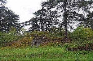 Buttes ardoisières de Juigné-sur-Loire (49)